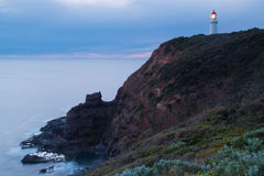 Cape Schanck Lighthouse Royalty Free Stock Photography