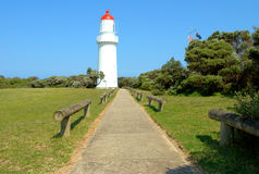 Cape schank lighthouse Royalty Free Stock Photos