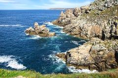 Cape Sizun, Pointe du Raz. Stock Image