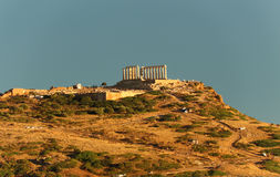 Cape Sounio, Attica, Greece Stock Photography