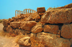 Cape Sounion Royalty Free Stock Image