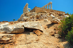 Cape Sounion Stock Photography