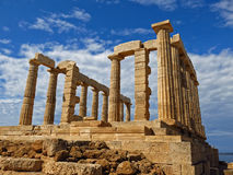 Cape Sounion Stock Image