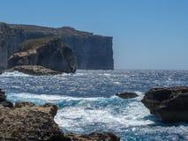Cape, south bank of Malta Stock Photo
