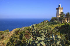 Cape Spartel Lighthouse, Tangier, Morocco Royalty Free Stock Photos