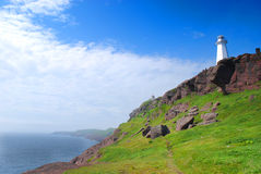 Cape Spear. Historical Cape Spear in Newfoundland Canada royalty free stock image