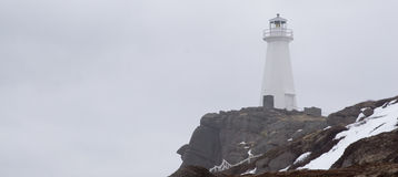 Cape Spear. The lighthouse at Cape Spear- North America's most easterly point Royalty Free Stock Photos