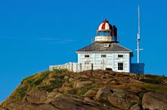 Cape Spear Lighthouse Royalty Free Stock Photo