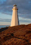 Cape Spear Lighthouse Royalty Free Stock Images