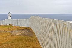 Cape Spear Lighthouse Stock Photography