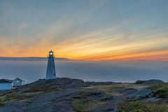 Free Cape Spear Lighthouse In Newfoundland, Canada Royalty Free Stock Photo - 164968765