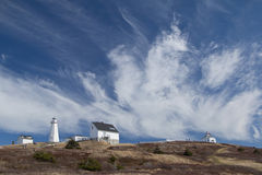 Cape Spear Lighthouse National Historic Site near Saint Johns Royalty Free Stock Image