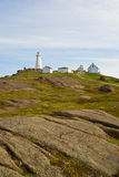 Cape Spear Lighthouse, St-Johns, Newfoundland Royalty Free Stock Images