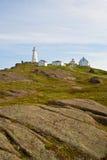 Cape Spear Lighthouse, St-Johns, Newfoundland. Cape Spear Lighthouse, Newfoundland, Canada royalty free stock images