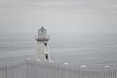 Cape Spear lighthouse Stock Images