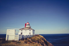 Cape Spears Lighthouse royalty free stock images