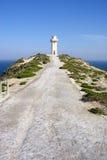 Cape Spencer Lighthouse. Scenic view of Cape Spencer lighthouse, Innes National Park, Yorke Peninsula, South Australia Stock Images