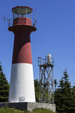 Cape Spencer Lighthouse in New Brunswick in Canada Royalty Free Stock Photos