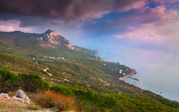 Cape St. Elias. Crimea Royalty Free Stock Photo