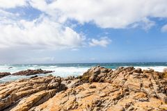 Cape St. Francis coast on Garden Route, South Africa. Cape St. Francis coast on Garden Route in South Africa stock photography
