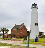Cape St. George Lighthouse #2 stock image