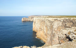 Cape st. vincent. In portugal Royalty Free Stock Photography