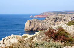 Cape st. vincent. In portugal Stock Image