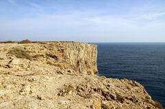 Cape st. vincent. In portugal Stock Images