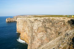 Cape st. vincent. In portugal Royalty Free Stock Photos