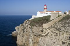 Cape St. Vincent Stock Image