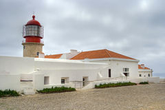 Cape St. Vincent, Algarve, Portugal Royalty Free Stock Photography