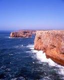 Cape St Vincent, Algarve, Portugal. Stock Photos