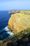 Cape St. Vincent (The end of the world) Royalty Free Stock Image