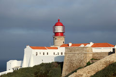 Cape St. Vincent in Portugal Stock Photography