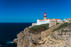 Cape St. Vincent in southern Portugal Royalty Free Stock Photography