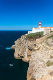 Cape St. Vincent in southern Portugal Stock Images