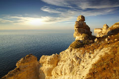 Cape Tarhankut. Crimea Royalty Free Stock Image