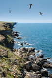 Cape Tarhankut (Ukraine, Crimea) Stock Photos
