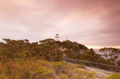 Cape Tourville Lighthouse Royalty Free Stock Image