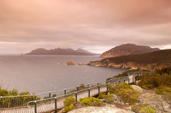 Cape Tourville lookout Royalty Free Stock Photo