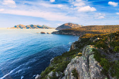 Cape Tourville in Tasmania, Australia Royalty Free Stock Photo