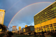 Cape Town's rainbow Royalty Free Stock Photography