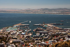 Cape Town. View of V&A Waterfront, Cape Town, South Africa, Africa Stock Images