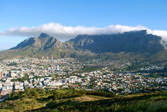 Views of Cape Town, the Mother City from Signal Hi Stock Image