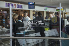 Cape Town airport, South Africa Stock Image