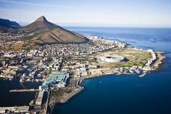 Cape Town antenn Royaltyfria Foton