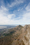 Cape town as seen from the top of Table Mountain. Stock Photography