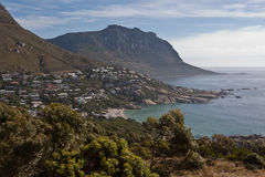Cape Town Atlantic Ocean Shore Stock Image