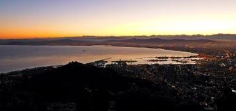 Cape Town au lever de soleil Photos stock