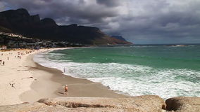 Cape Town Beach stock video